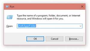 Apps folder